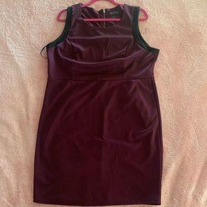 Plus size form fitting dress
